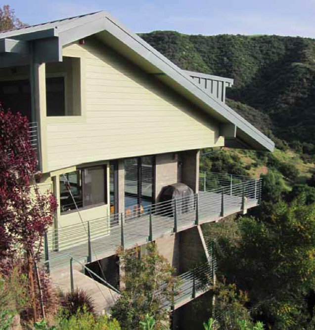 Hillside side view