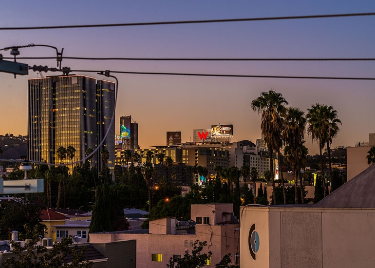 Fountain-Gower-hollywood-view