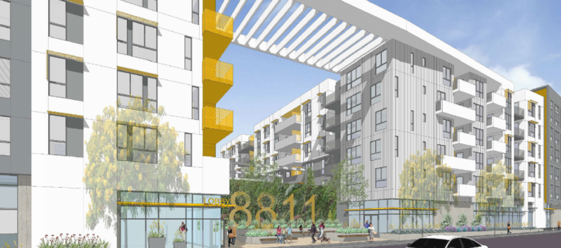 First Look at North Hill Apartment Complex